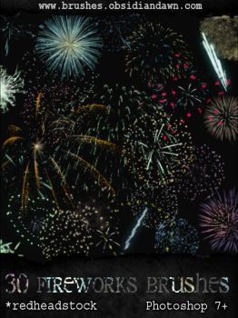 GIMP Fireworks Brushes by Project-GimpBC