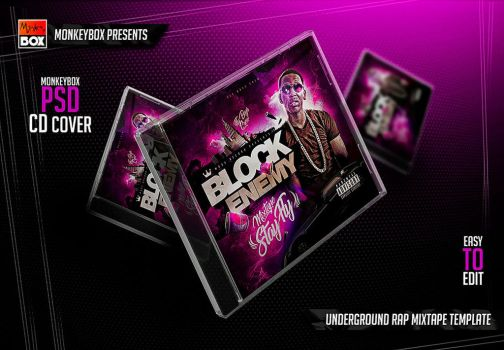 Underground Rap Mixtape Template by AndyDreamm