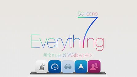 50 icons iOS7 For Mac by GrimlocK38