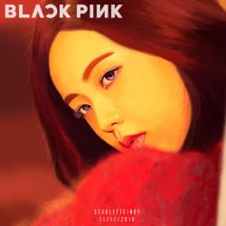 Jisoo - Black Pink by ScarlettCindy