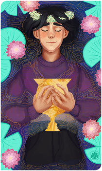 Commission: Ace of Cups by SunflowerSmash
