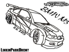 Need For Speed Most Wanted BMW M3 by LinkinParkBrony
