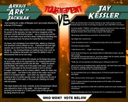 Tournament Match 30:  Ark vs Jay by Dreamkeepers
