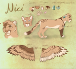 .: Nici :. new fursona by dat-Fips