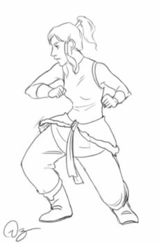 GIF Korra going round and round by palnk