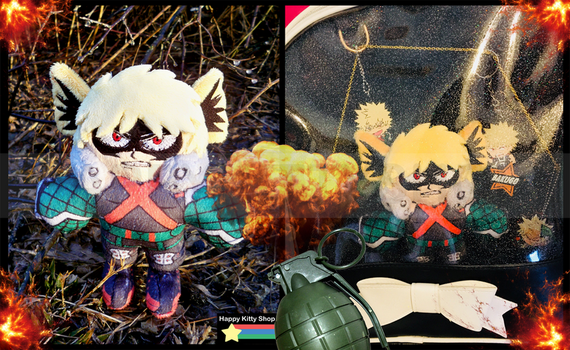 Lord Explosion MURDER! by HappyKittyPlushies