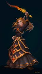 belf mage by lowly-owly
