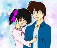 Reed and Ruriko by DarkElements10