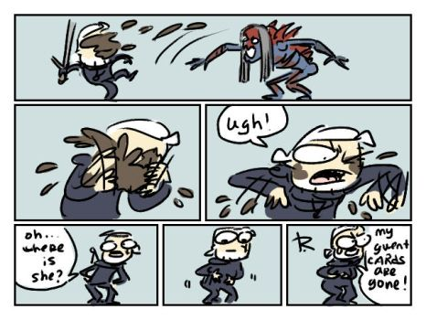 The Witcher 3, doodles 233 by Ayej