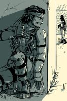 MGS - sneaking by FerioWind