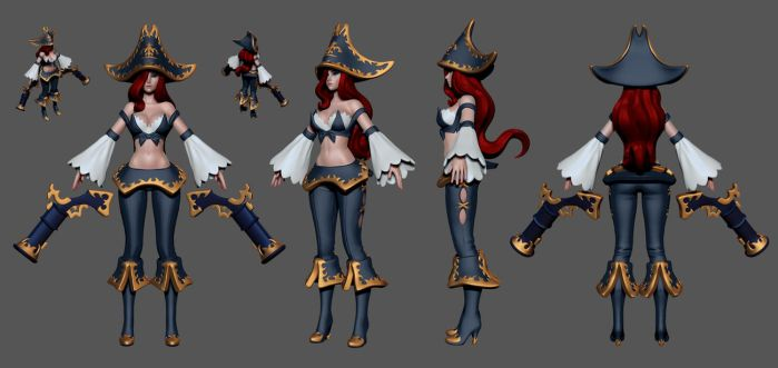 League of Legends: Miss Fortune Wip 6 by HazardousArts
