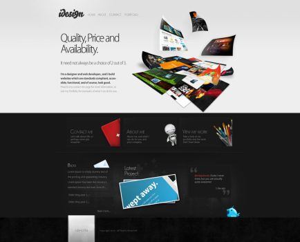 Portfolio iteration 2 by crazyclouds