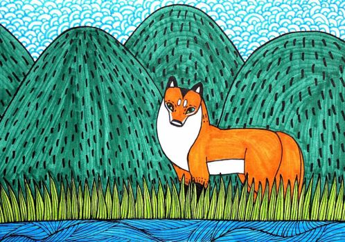 Nature Fox by RedCloudlet