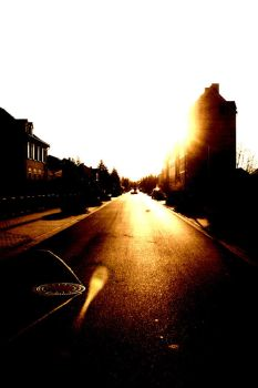 A long street by sTuPiD-eLcH