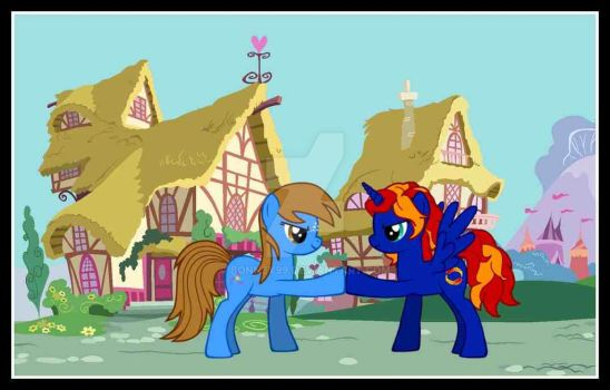 Me and My Friends MLP OC by bonney99