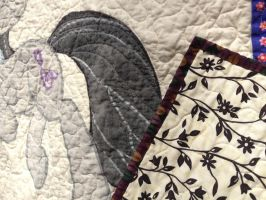 Octavia Quilt Detail by reluctantbrony