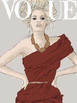 Vogue - Caroline Wiberg by Bananaspoon