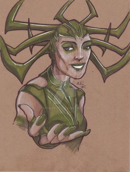 Hela - with replay by artildawn
