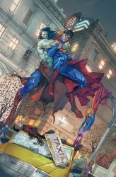 SUPERMAN Cover 14 colored by SUNNY GHO by DeevElliott