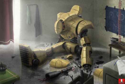 NEGLECTED ROBOTTO by BAKART
