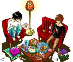 death note: confectionary by aaaarghhhhhhh