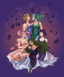 Outer Senshi by Toxic--Vision