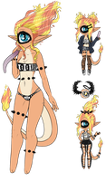 Xynthii: Adopt: Charmander inspired! CLOSED by ObsceneBarbie