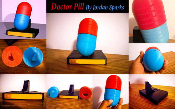 Doctor Pill by SuperSparkplug