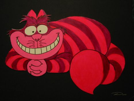 Cheshire ala Disney by dtrammell