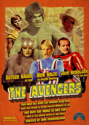The  Avengers (1970s style) by AtomTastic