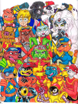Bucky O'Hare and friends color