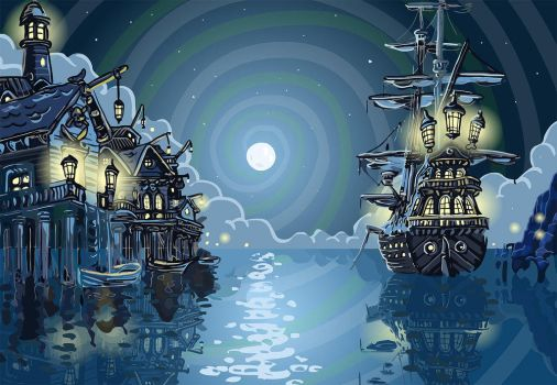 Pirate Bay by TheNoblePirate