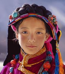 Photo Study (Tibet Girl) by r-chie