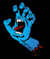 Jim Phillips Screaming hand tr by angerjes