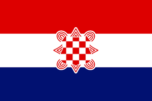 Flag of th Croatian Confederation by Linumhortulanus