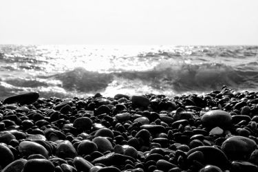 Pebbles in the sun by StamatisGR