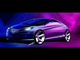 Acura advanced coupe by carlexdesign