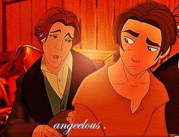 Dimitri/Jim Hawkins Crossover. by angeelous-dc