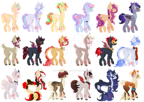 Mystery Pony Adopts :CLOSED: by MaidenOfTheMacabre