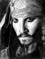 Captain Jack Sparrow by Caelkriss