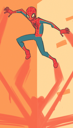 amazing spiderman color challenge by mintycanoodles