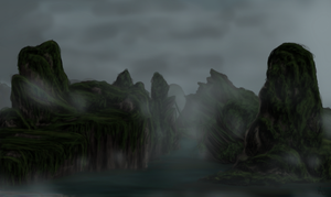 Precipitation - Location Concept/Speed Paint by Shade-of-the-Night