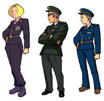 Advance Wars: ZH USA COs by CarrionTrooper