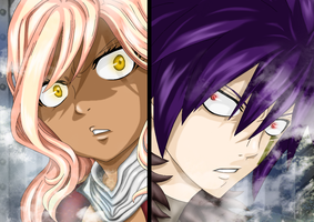 FAIRY TAIL OC - Costaera vs Rihan: Here we are... by DarkLordLuzifer