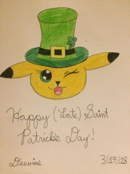 Happy (Belated) St. Patty's Day! by Deevins
