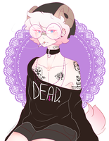 dead but still workin it by cuppybakes