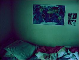 my bed has becomemyhome by discursive