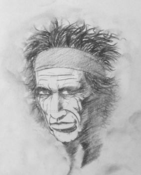 Keith Richards by YoteMan