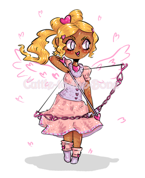 [adoptable GIVEAWAY] Candy Heart Archer  [CLOSED] by Cuttle-to-the-Bone