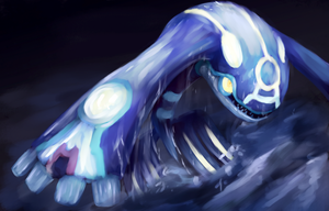 Primal Kyogre by R8A-creations